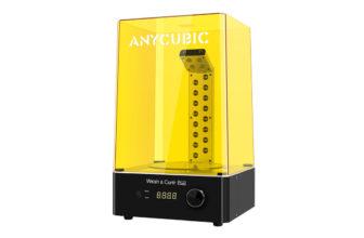 Anycubic Wash&Cure Plus, el mejor aliado para el postprocesamiento 3D