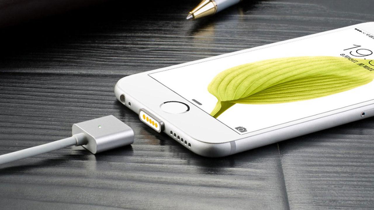 Apple patenta un conector magnético inteligente para iPhone