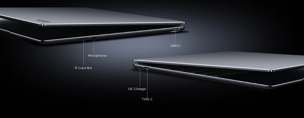 CHUWI GemiBook Pro - Puertos alámbricos