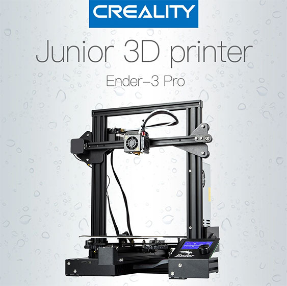 Creality Ender 3 Pro S - Diseño