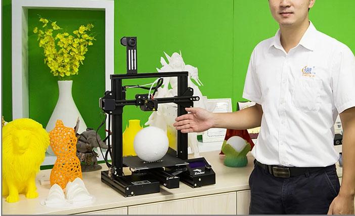 Creality Ender 3 Pro S - Impresión 3D