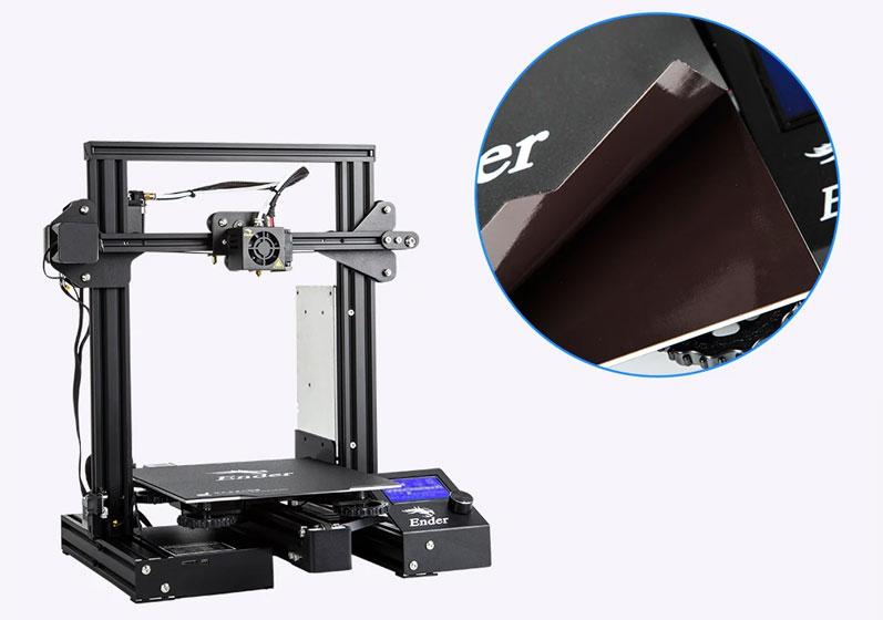 Creality Ender 3 Pro S - Sticker magnético
