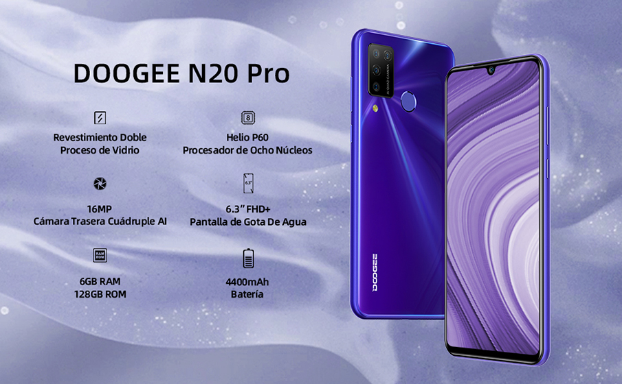 DOOGEE N20 Pro - Especificaciones