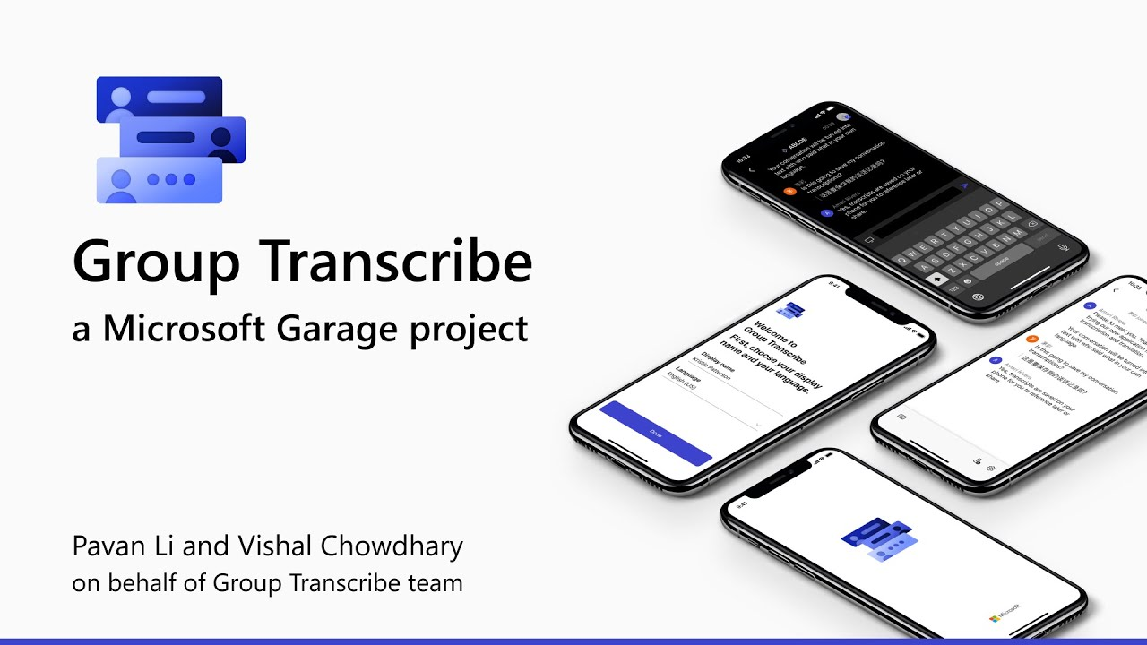 Microsoft Transcribe