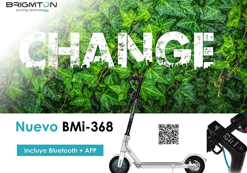 Nuevo patinete eléctrico BMI-368