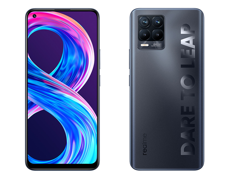 Realme 8 Pro - Diseño y pantalla