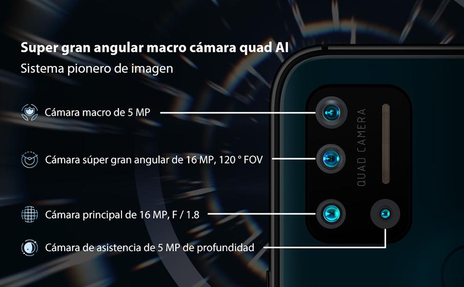 UMIDIGI A7 Pro - Cámaras