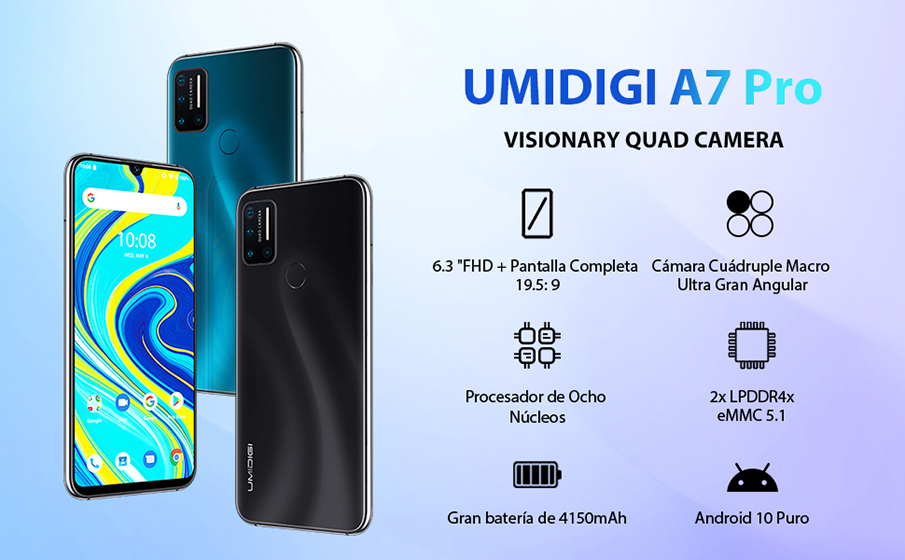 UMIDIGI A7 Pro - Hardware y características