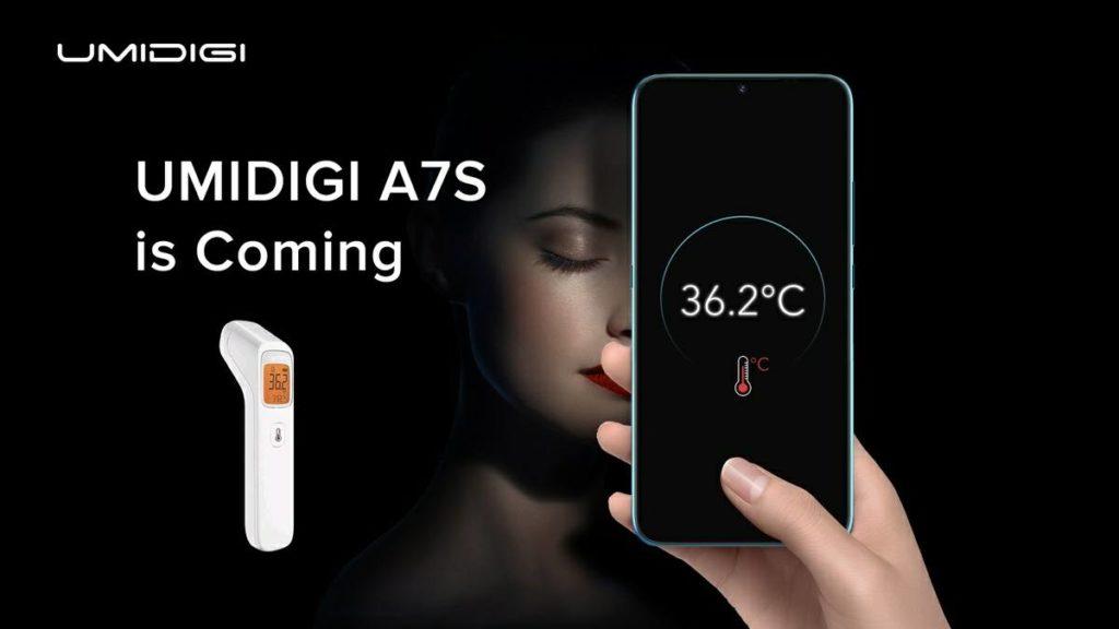 UMIDIGI A7S - Sensor infrarrojo