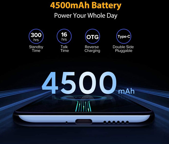 Ulefone Note 9P - Batería