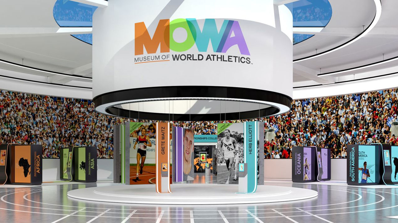 World Athletics, así es el primer museo deportivo de realidad virtual