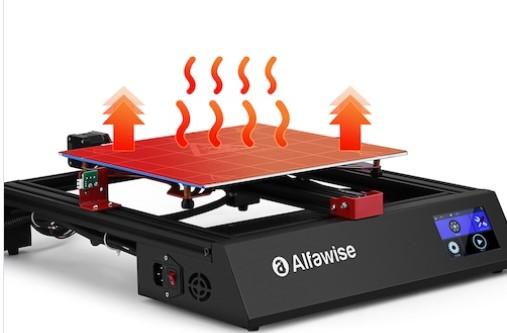 Alfawise U20 One - Cama caliente