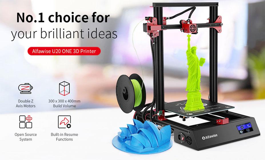 Alfawise U20 One - Impresión 3D