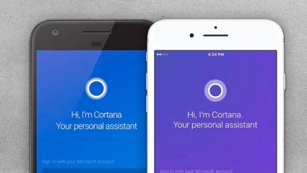 Cortana para iOS y Android