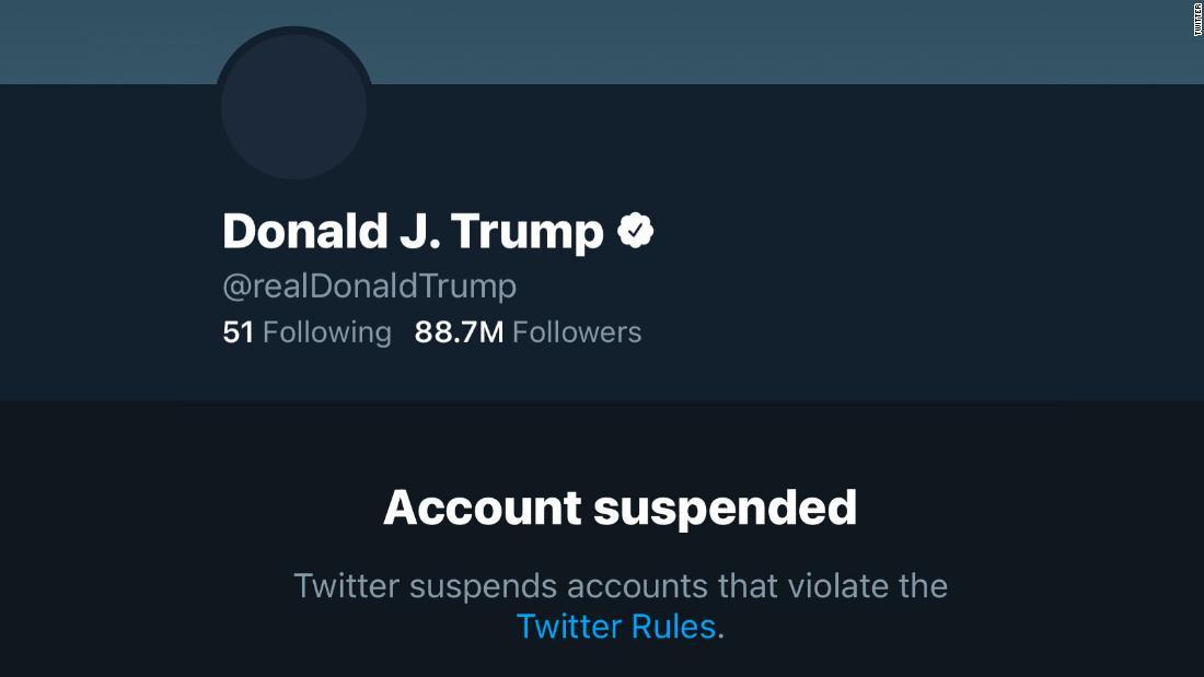 Donald Trump Ban de Twitter