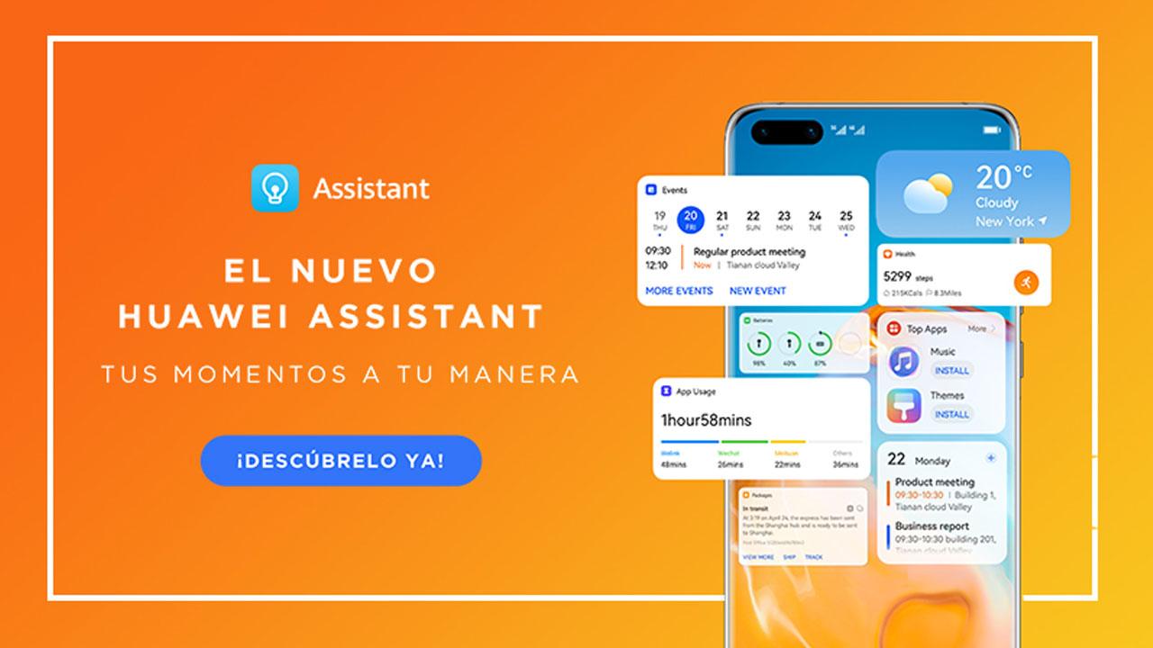 El Huawei Assistant se actualiza para enriquecer la experiencia de usuario