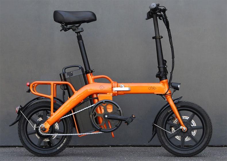 FIIDO L3 en color naranja
