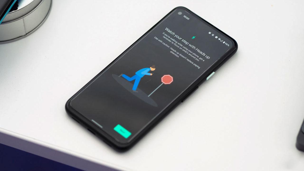 Heads Up, mantén la vista al frente cuando caminas, dice Google
