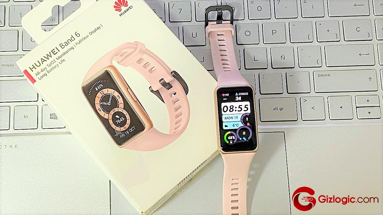 Huawei Band 6: La pulsera inteligente que recomendaría a mi mejor amigo