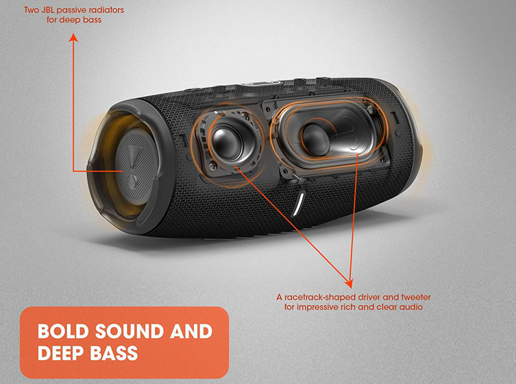 JBL Charge 5 - Sonido