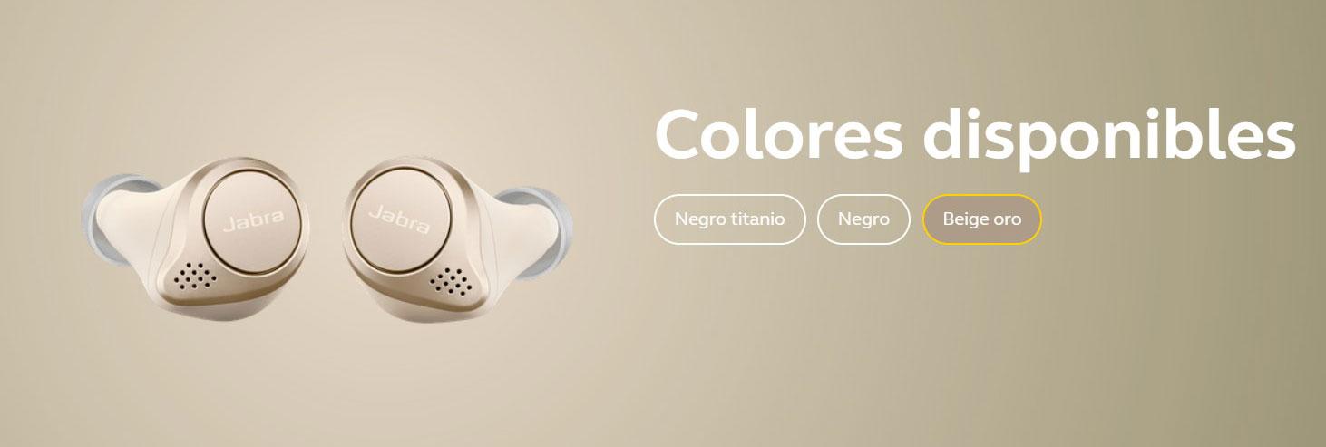 Jabra Elite 75t - Colores disponibles