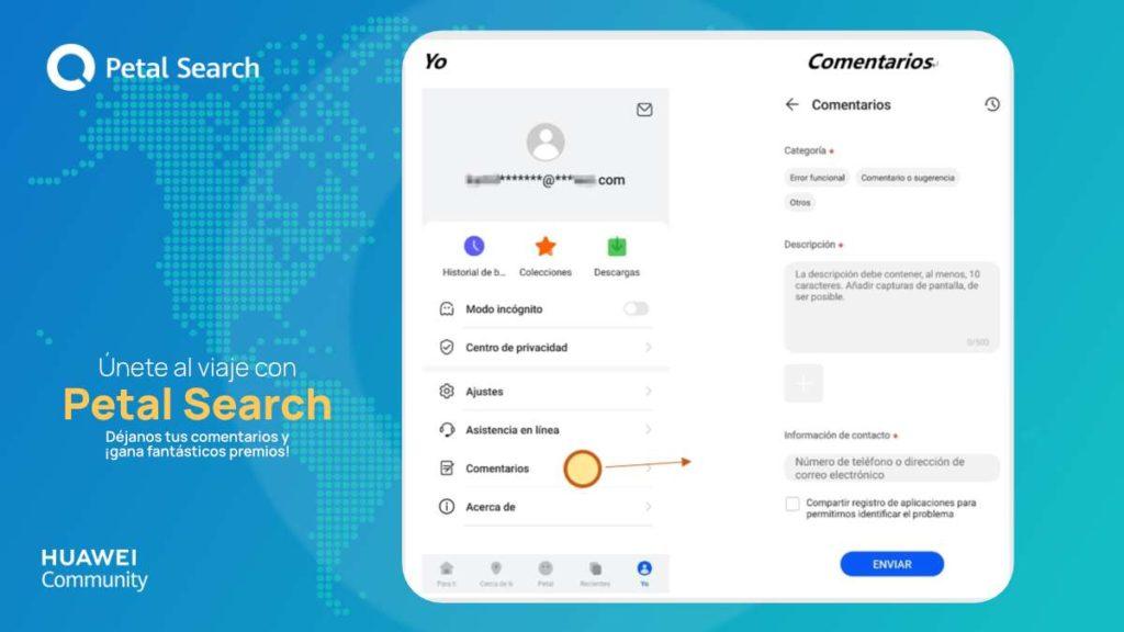 Petal Search - Cómo participar