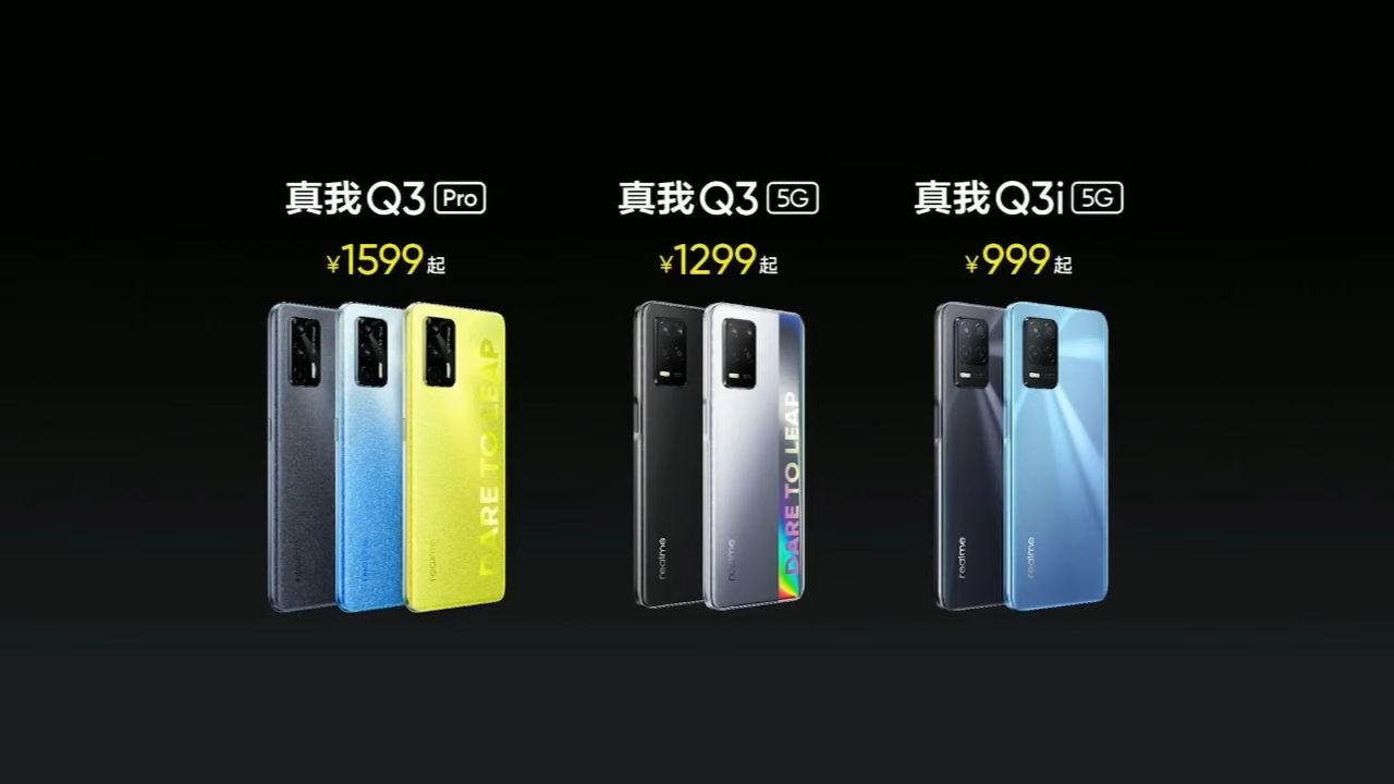 Realme Q3 Q3i Q3 Pro