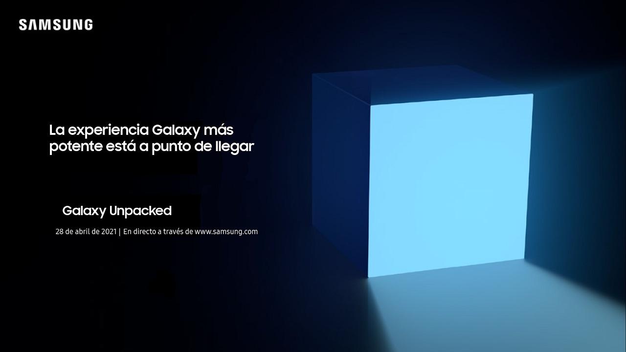 Unpacked Samsung Galaxy