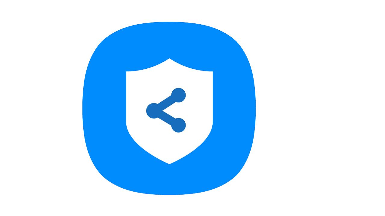 Samsung Private Share app