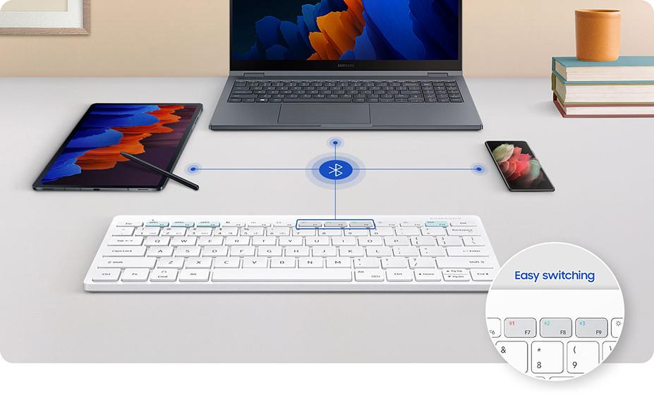 Samsung Smart Keyboard Trio 500 - Emparejamiento