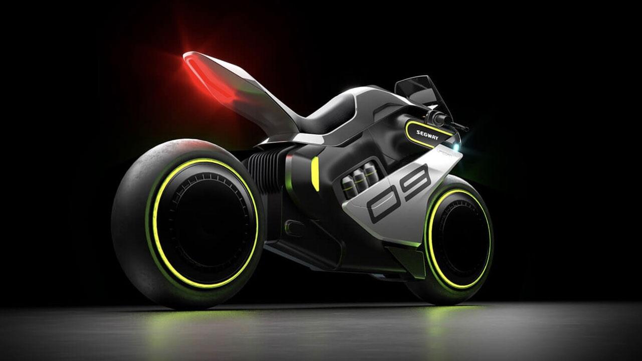 Segway Apex H2, la moto futurista con combustible de hidrógeno
