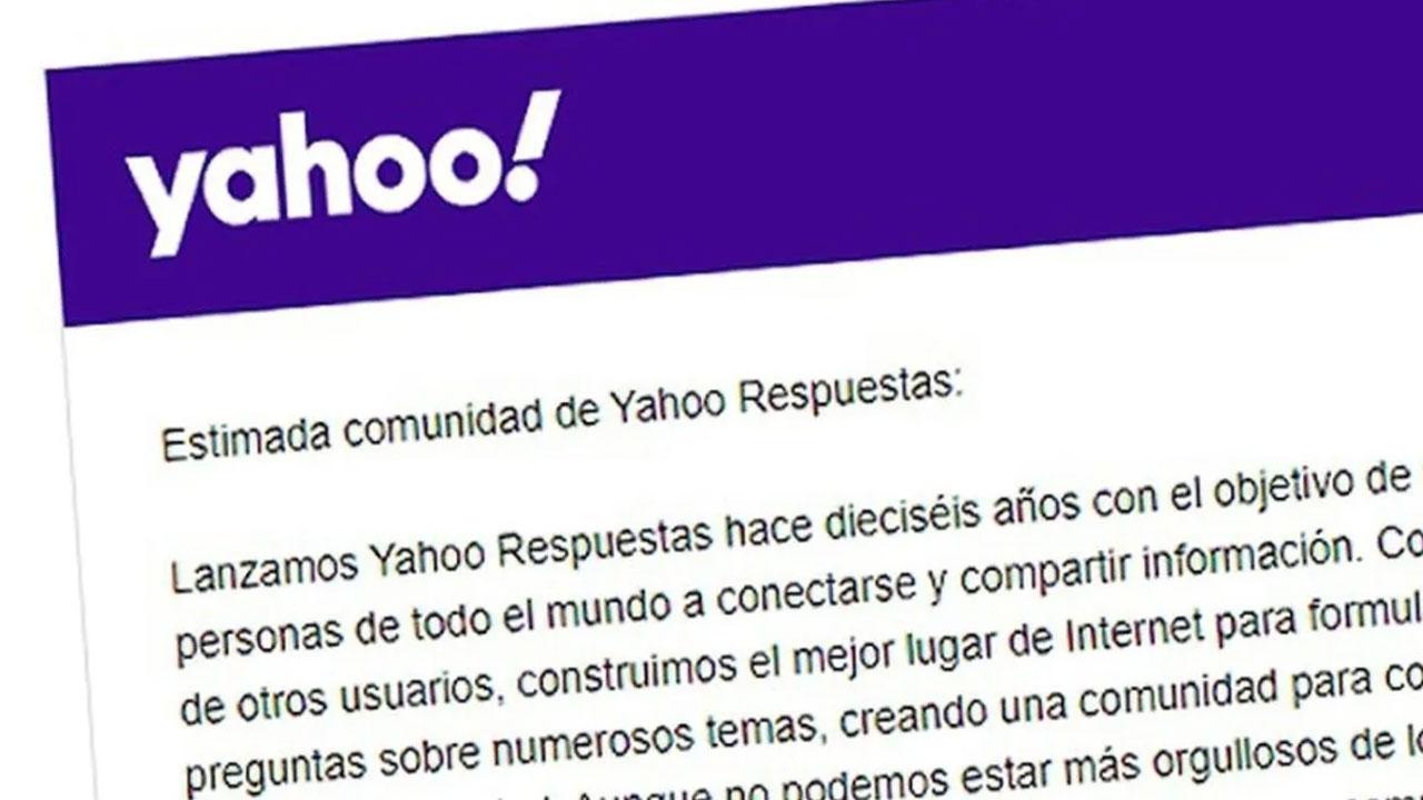 Yahoo Respuestas dice adiós, el sitio de preguntas y respuestas llega a su fin