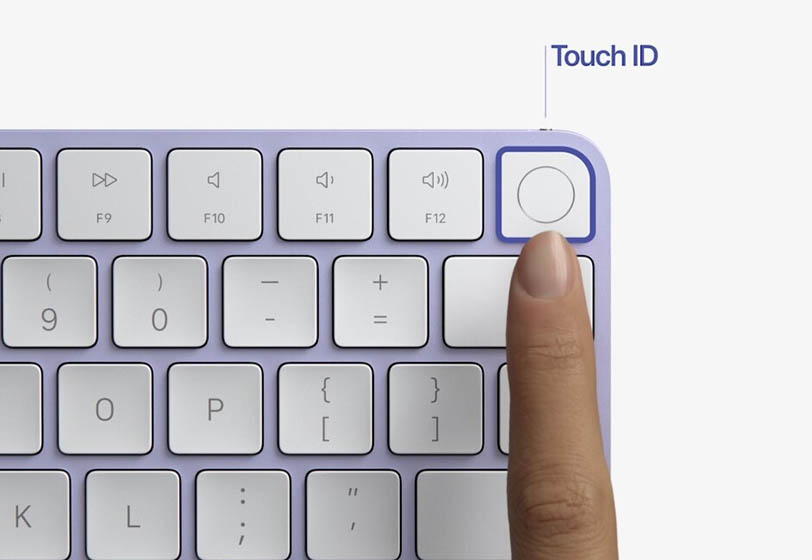 Magic Keyboard con Touch ID