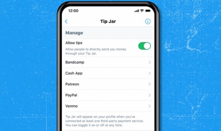Así es como funciona Tip Jar, el tarro de propinas de Twitter