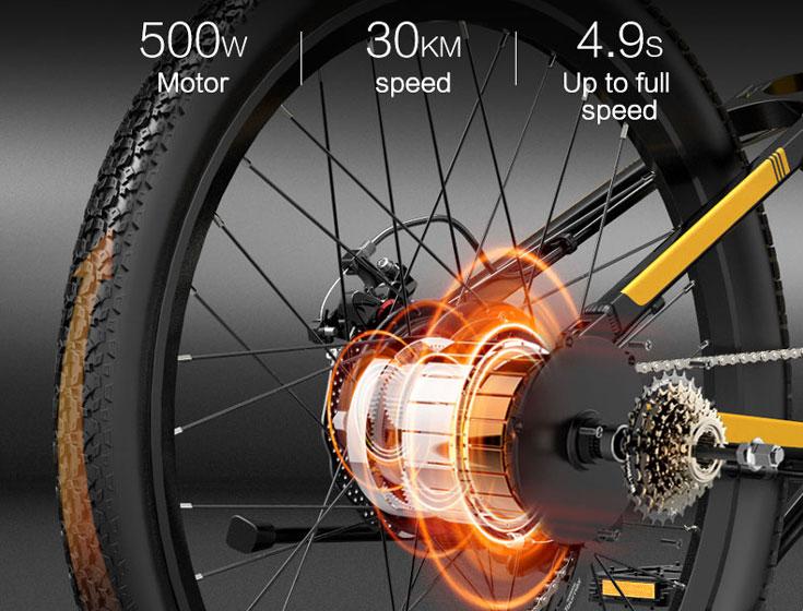 BEZIOR X500Pro - Motor y velocidad