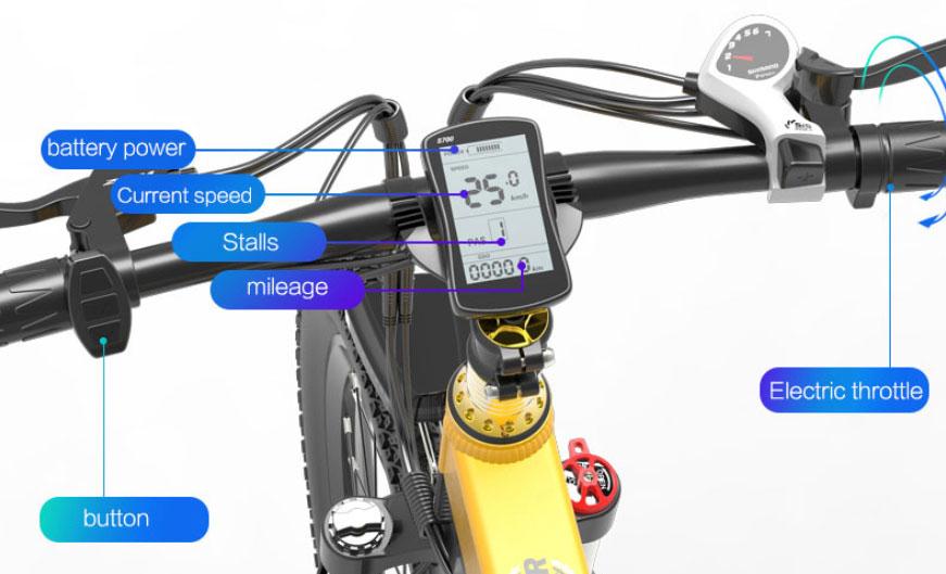 BEZIOR X500Pro - Pantalla LCD