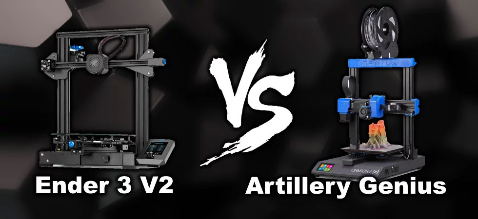 Ender 3 V2 vs Artillery Genius