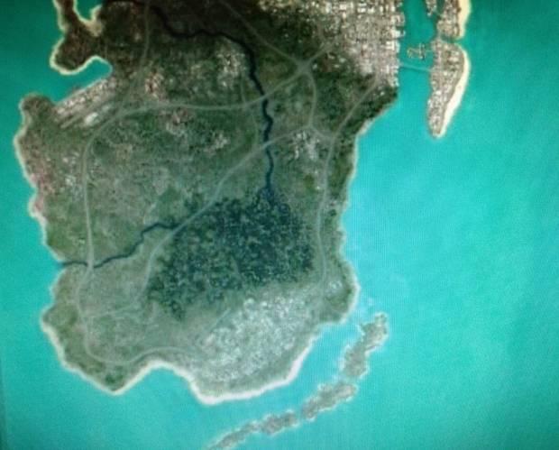 GTA 6 Filtración mapa