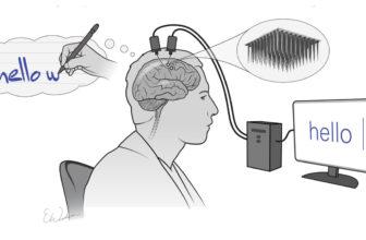 Interfaz cerebro-computadora podría convertir escritura mental en texto real