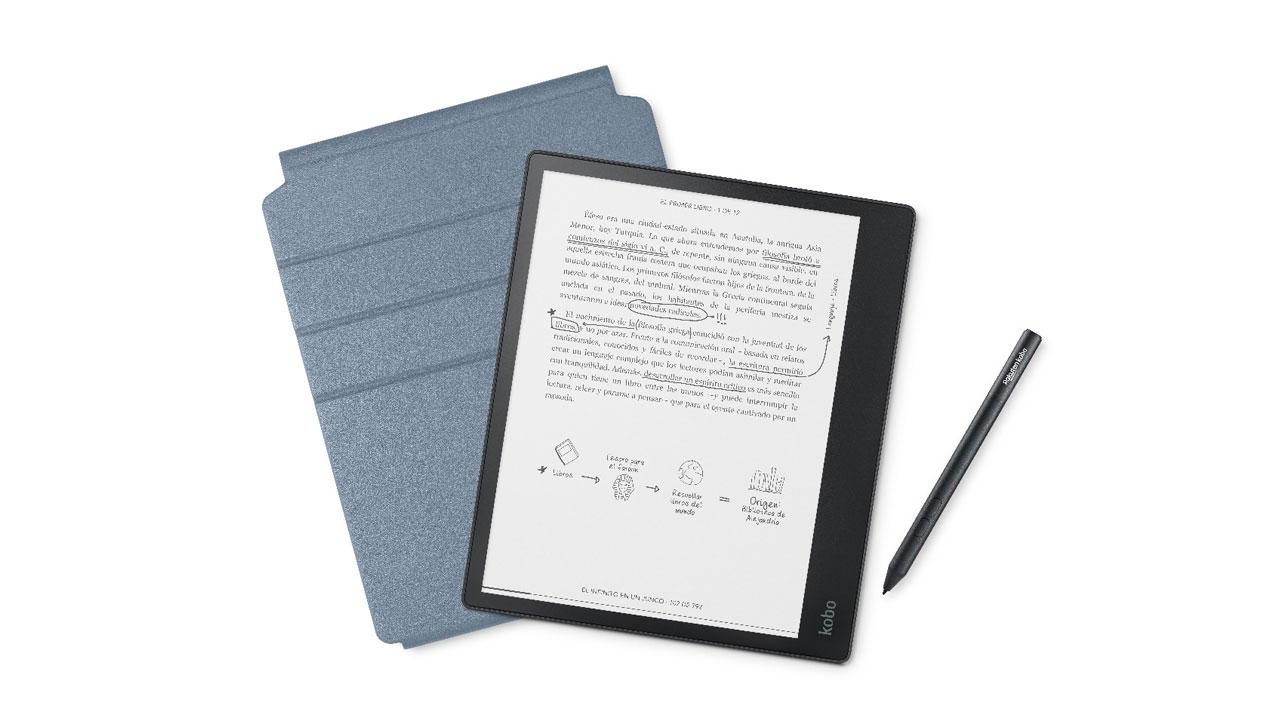 Kobo Elipsa, eReader y libreta electrónica en un solo paquete