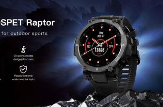 Kospet Raptor, un Smartwatch rugerizado y listo para el deporte