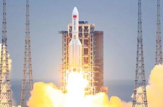Se confirma la caída del cohete chino fuera de control en el océano índico