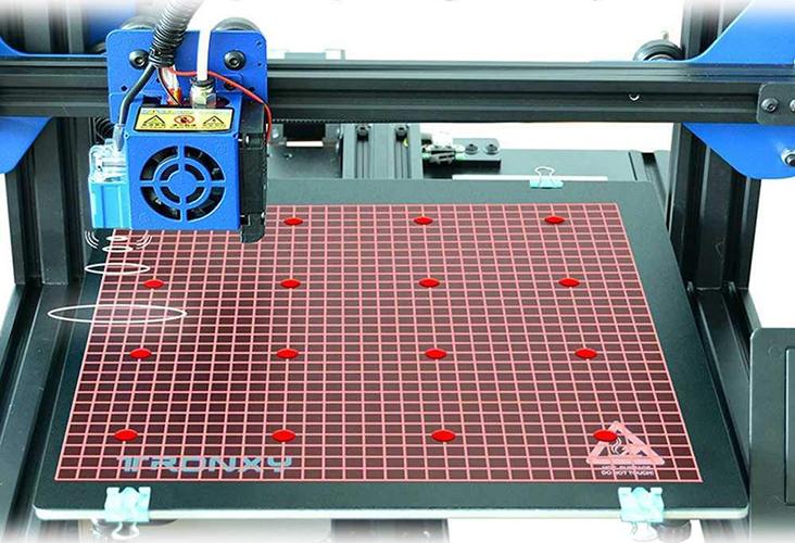 TRONXY XY-2 Pro - Nivelación automática