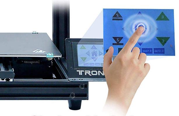 TRONXY XY-2 Pro - Pantalla