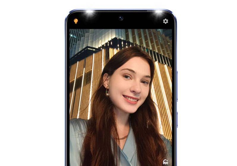 Vivo V21 - Cámara selfie
