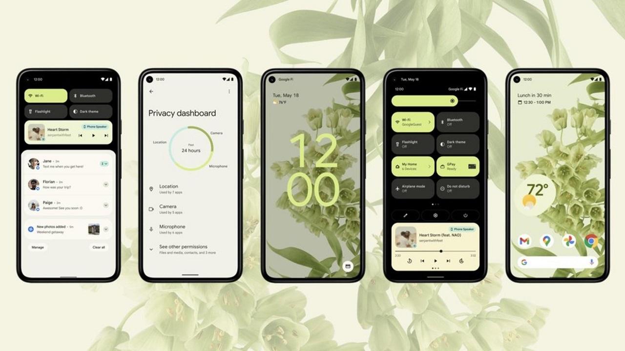 beta de android 12