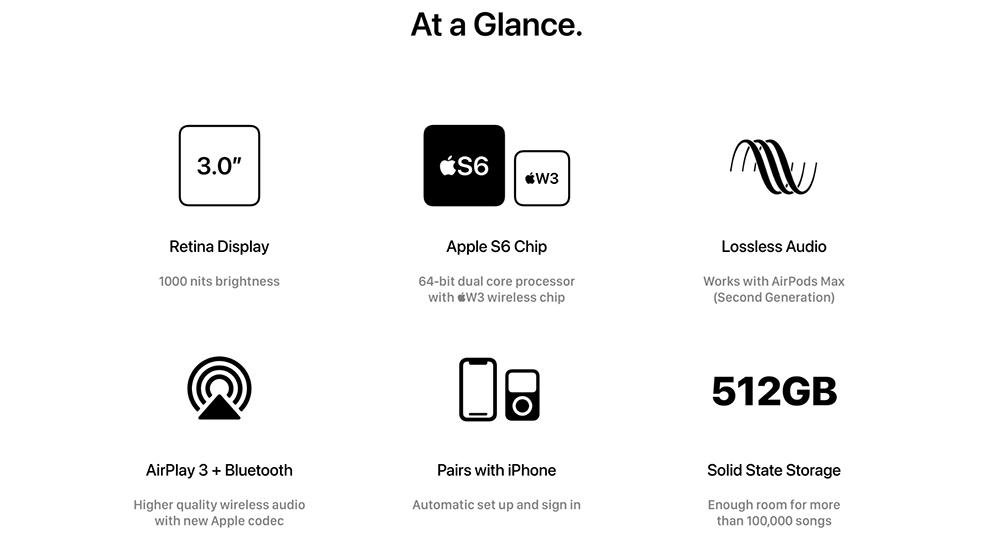 iPod Max - Características