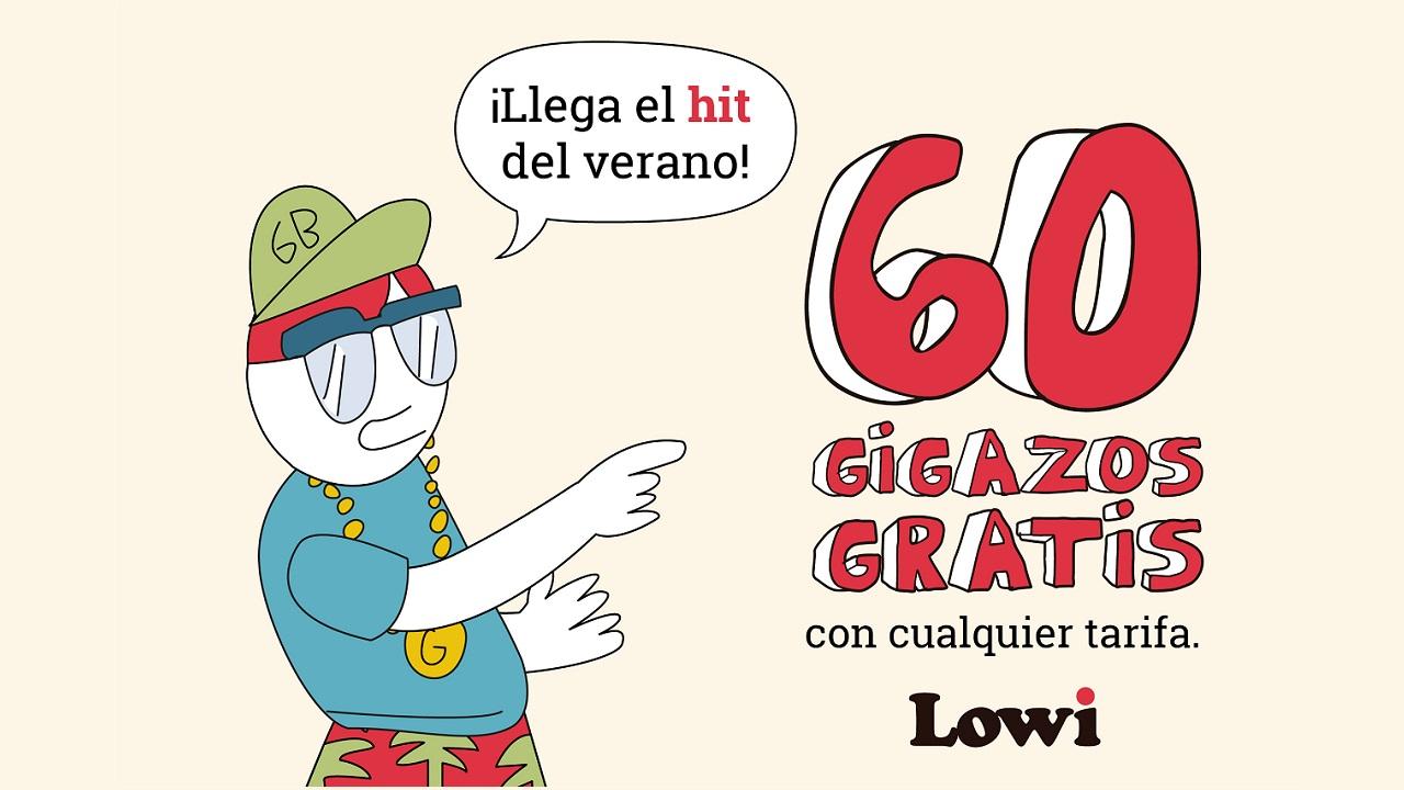 60GB GRATIS CON LOWI