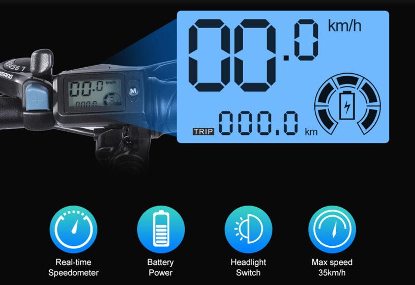 BEZIOR M20 - Pantalla LCD