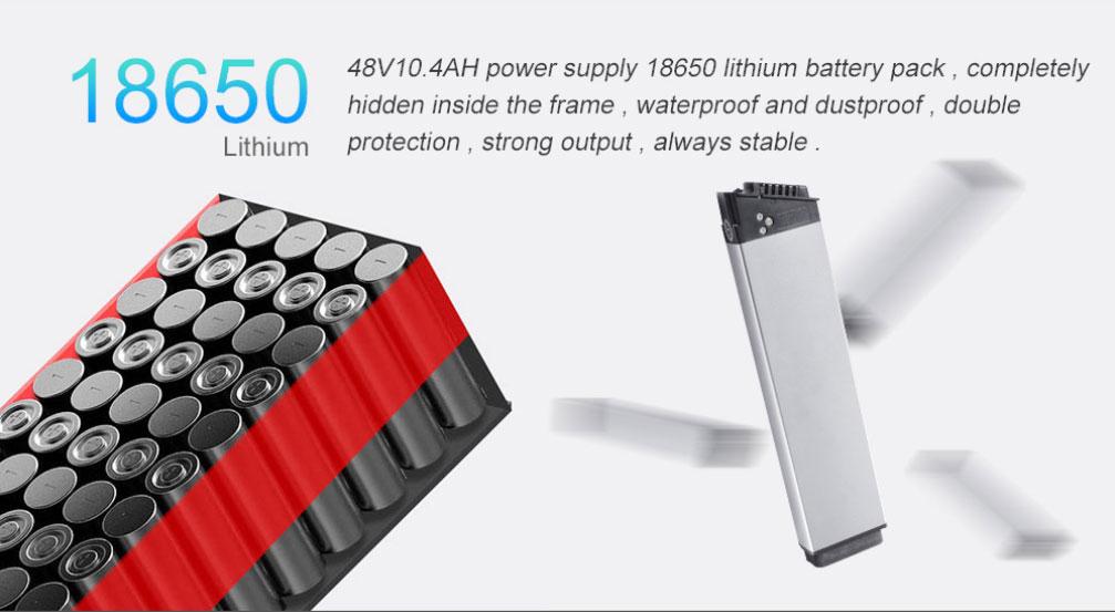 BEZIOR M26 - Batería